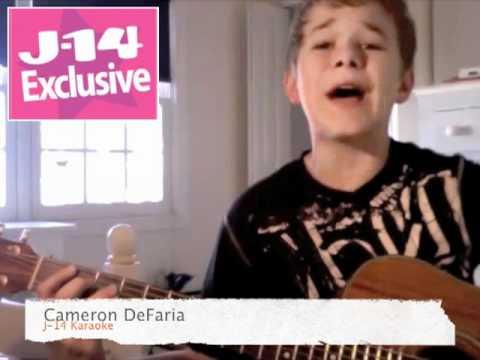 J-14 Exclusive: Karaoke With Majors & Minors' Cameron DeFaria