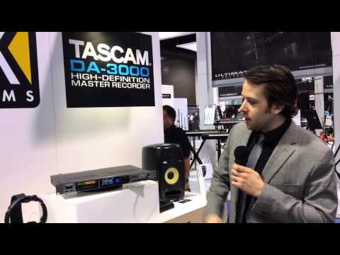 NAMM 2014 TASCAM DA-3000