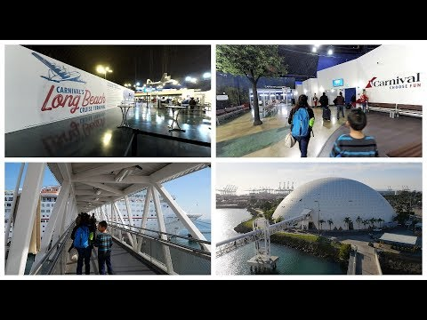 Long Beach Cruise Terminal Port Tour & What to Expect (4K)