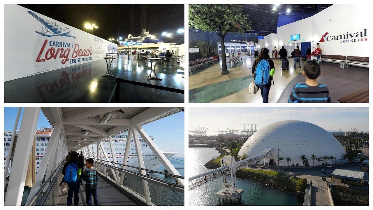 Long Beach Cruise Terminal Port Tour
