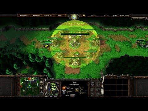 Гайд / инструкция по Survival Chaos Warcraft 3