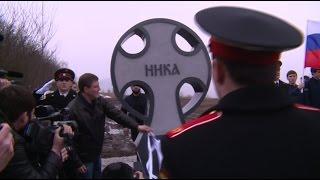 В Чечне открыли памятник погибшим в Аргунском ущелье десантникам(, 2017-03-02T17:46:12.000Z)