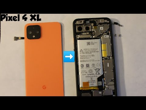 Google Pixel 4 XL How To Replace Or Remove Back Glass Cover