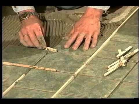 Installation des carreaux de c ramique au plancher for Carreaux de ceramique mural