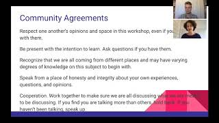 Supporting Trans Students Workshop: Community Agreements