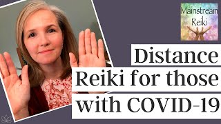 Distance Reiki for Patients of COVID-19