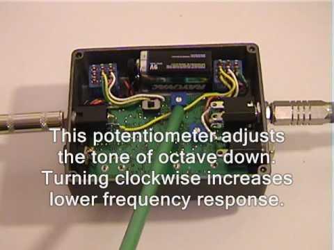 NTN SOUND OTC-1B Bass Octave Effect Demo
