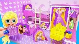 как сделать дом для всех кукол своими руками