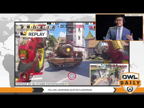 "1-3-18 - ""Shanghai Week 1 feat. Jamerson"" - Overwatch League Daily"