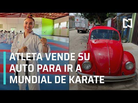 Xhunashi Caballero vende su auto para poder asistir a Mundial de Karate - Expreso de la Mañana