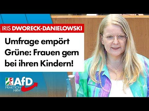 Umfrage empört Grüne: Frauen gern bei ihren Kindern! – Iris Dworeck-Danielowski (AfD)