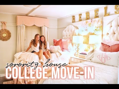 College Move-In Vlog ✰ Ole Miss Sorority House 2018