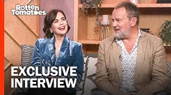 Downton Abbey's Elizabeth McGovern & Hugh Bonneville Talk Favorite Moments | Rotten Tomatoes