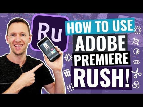 Adobe Rush Tutorial - How to Edit Videos with Premiere Rush!