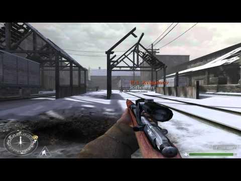 """Call of Duty 1 Gameplay Walkthrough - 16 """"Warsaw, Poland"""" [HD / 60 FPS]"""