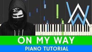 Alan Walker, Sabrina Carpenter & Farruko - On My Way - PIANO