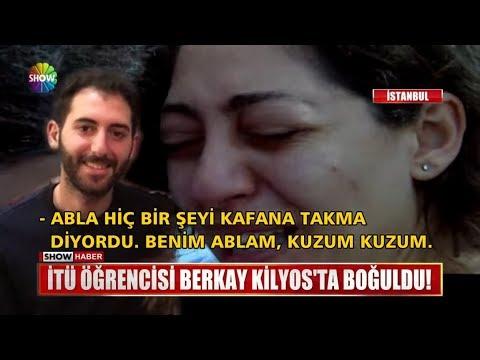 İTÜ öğrencisi Berkay Kilyos'ta Boğuldu!