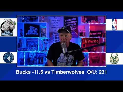 Milwaukee Bucks vs Minnesota Timberwolves 2/23/21 Free NBA Pick and Prediction NBA Betting Tips