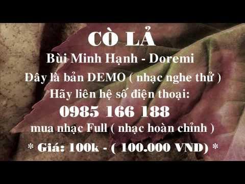 [Beat] Cò Lả - Bùi Minh Hạnh (Phối Chuẩn)