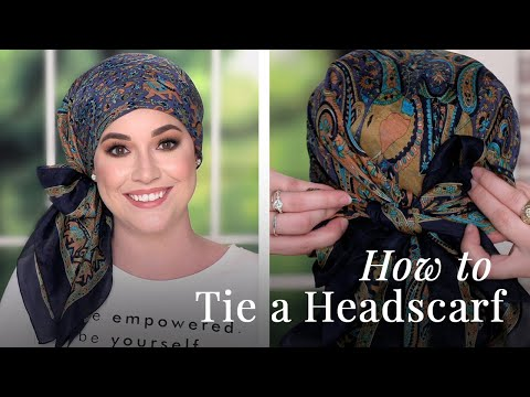 How To Tie A Headscarf | Easy Head Scarf Styles (2020)