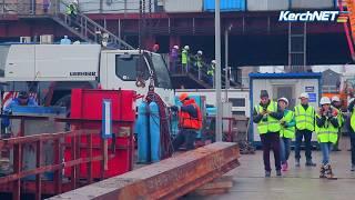 На проектной высоте: Керченский мост скоро вытянется в сплошную линию