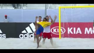 Чемпионат мира по пляжному футболу-2017. Польша-Бразилия. Момент для судьи