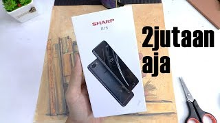 Sharp R1S : hape baru dari sharp cuma 2 jutaan(, 2018-02-11T08:38:33.000Z)