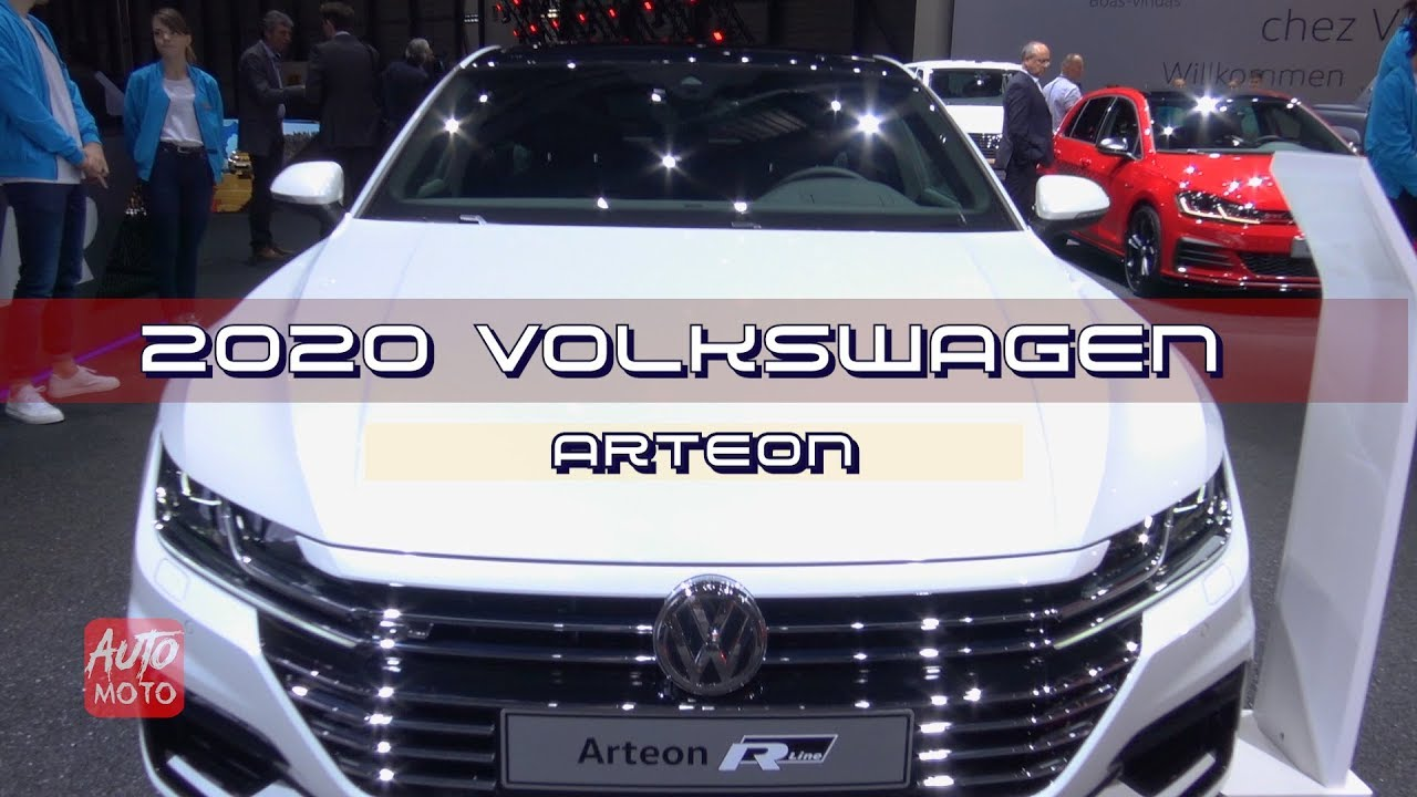 volkswagen arteon tsi hp exterior  interior  geneva motor show youtube