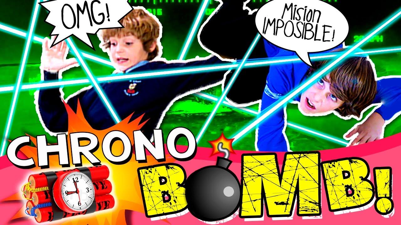 Chrono Bomb Challenge Unboxing Y Review Juguete Chrono Bomb En Espanol Youtube