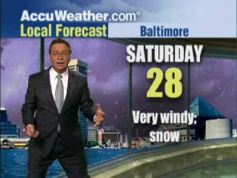 AccuWeather.com Snowpocalypse Now! Meteorologist Freakout