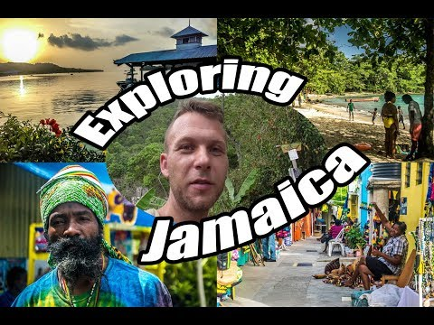 My Travel Diary - Exploring Jamaica (Kingston, Port Antonio, Ocho Rios, Rastafari Camp) #VLOG