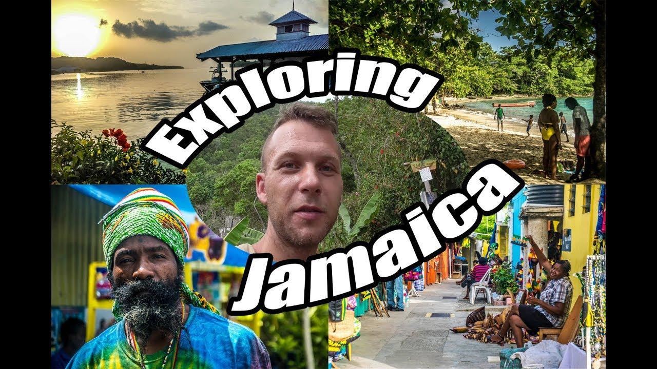 My Travel Diary - Exploring Jamaica (Kingston, Port Antonio, Ocho Rios, Rastafari Camp) #VLOG