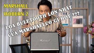 Review Marshall Woburn 2 đầy đủ chi tiết nhất  2020 - Chiếc loa bluetooth lớn nhất của Marshall