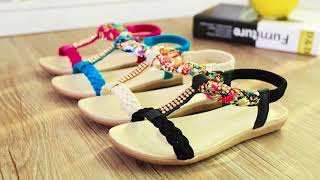Women Sandals Summer Fashion Women Shoes Beach Sandals Ladies Comfortable Women.mp4