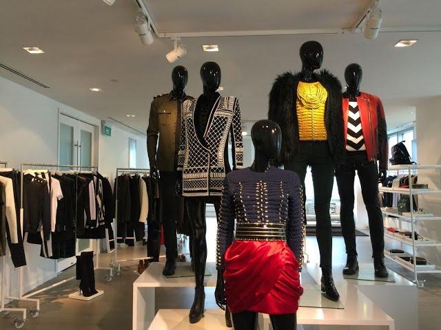 HYPERLAPSE VID: Sneak peek at the new H&M x Balmain collection