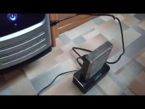 Док-станция для винчестера HDD SSD USB 3.0 (Подключение к ПК)