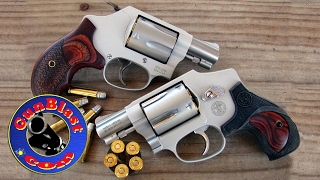 Shooting the Smith & Wesson Performance Center Model 637 & 642 38 Special Revolvers - Gunblast.com