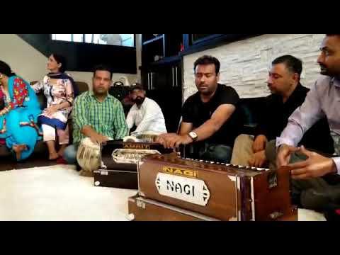 Tere Rang   Live Mehfil   Dilkhush Thind   Surrey   Canada