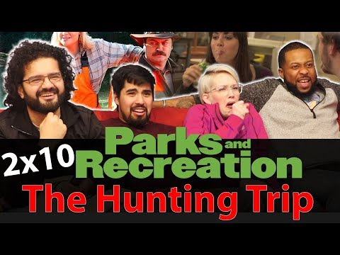 Parks and Recreation - 2x10 The Hunting Trip - Group Reaction