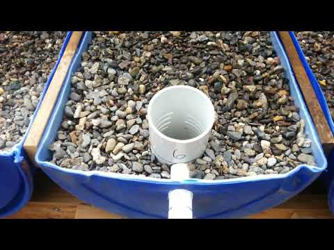 The Key Points of the Water Flow in an Aquaponics System