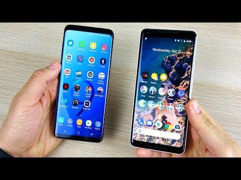 Galaxy S9 Plus vs Pixel 2 XL Honest Feelings