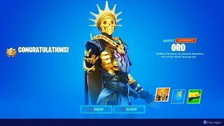 How to Unlock NEW FREE REWARDS! (Fortnite Oro Skin, Pickaxe & Wrap)