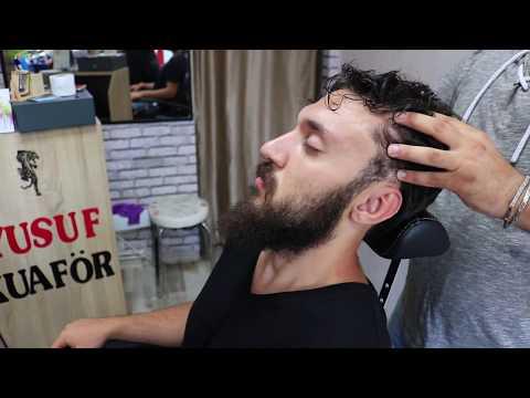 ASMR Turkish Barber Face,Head and Body Massage 44