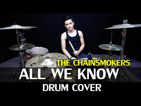 All We Know - The Chainsmokers Ft. Phoebe Ryan - Drum Cover - Ixora (Wayan) - Anki Remix