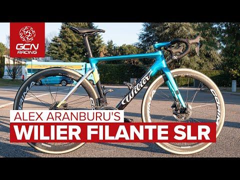 Alex Aranburu's Wilier Filante SLR | Team Astana-Premier Tech's Aero Bike