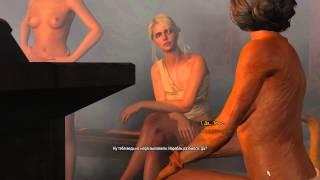 Ведьмак 3: Дикая охота. Рассказ мёртвого,Цири в бане.