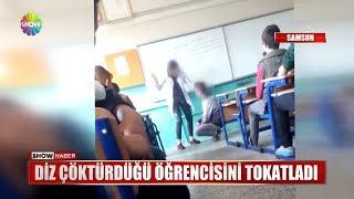 Dayakçı öğretmen açığa alındı