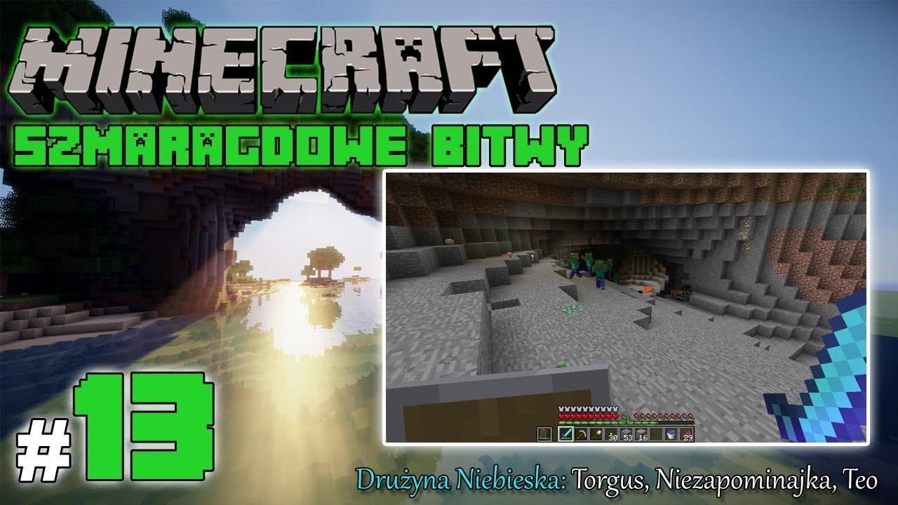 """Minecraft: Szmaragdowe Bitwy [Drużyna Niebieska] odc. 13 – """"Poszukiwanie dziur"""""""