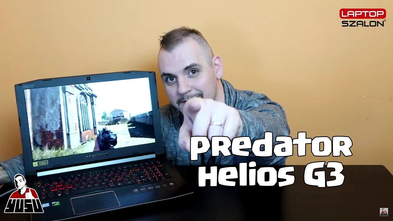 SZERELEM ELSŐ LÁTÁSRA | Acer Predator Helios G3-572