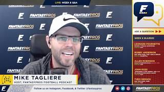 Week 8 Fantasy Football Q&A (2018)